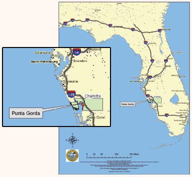 Punta Gorda Map Punta Gorda Port Charlotte Street Map | Punta Gorda Chamber of