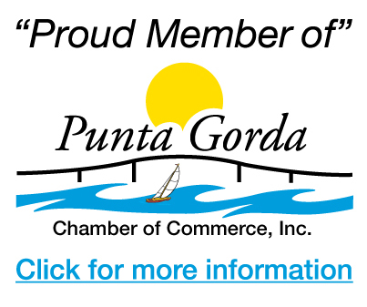 Proud Member of Punta Gorda Chamber of Commerce
