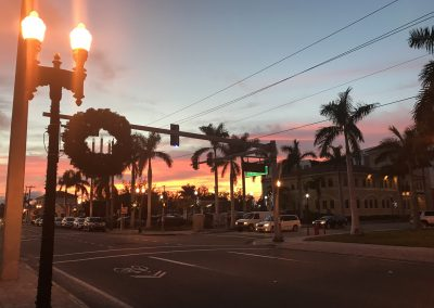 Downtown_Punta_Gorda_FL_at_Dusk