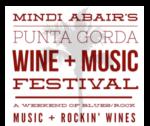 Mindi Abair's Punta Gorda Wine + Music Festival Logo