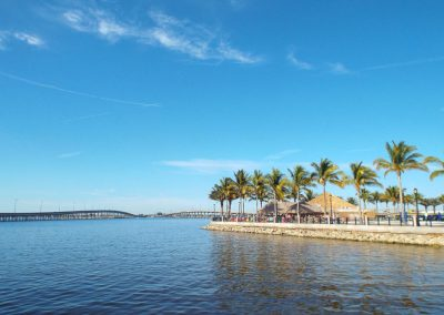 Charlotte Harbor and the Tiki, Punta Gorda FL