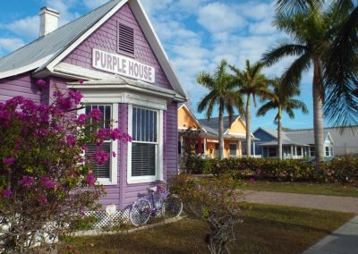 Historic Punta Gorda, Florida-Purple House