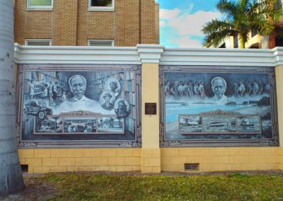 Mural Life and Times of George Brown, Punta Gorda FL