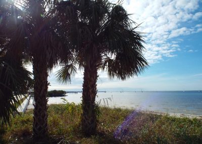 View of Charlotte Harbor, Punta Gorda FL
