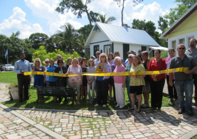 History Park Trabue House Ribbon Cutting
