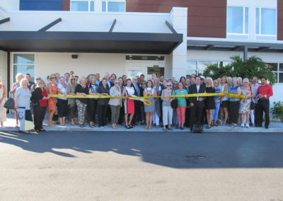 Springhill Suites Marriott Ribbon Cutting