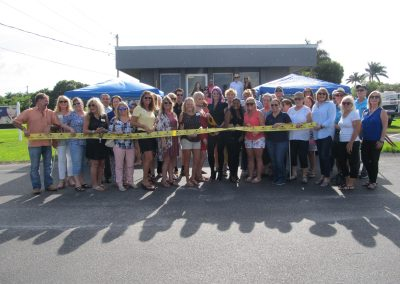 Dawn's Pamper Parlor Ribbon Cutting
