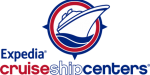 Logo for Expedia Cruise Ship Centers, a 2019 Mindi Abair Concert Sponsor