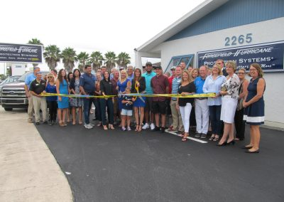 Forcefield Hurricane Protection Systems Ribbon Cutting