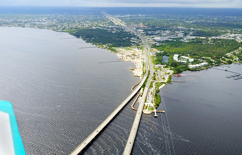 Charlotte County Harbor-walk-aerial