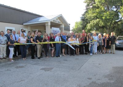 The Homeless Coalition Ribbon Cutting