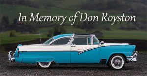 In Memory of Don Royston