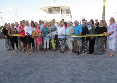Ribbon Cutting at King Fisher Fleet for the Helen M