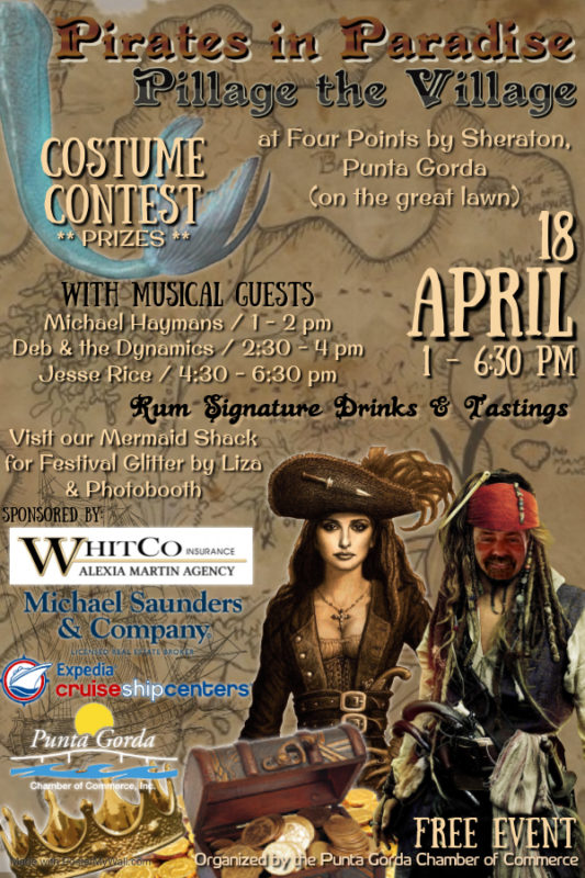 Pirates inParadise Event Flyer