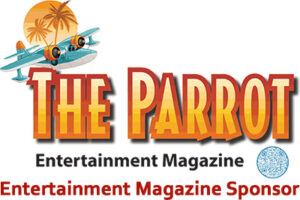 the Parrot Entertainment Magazine logo