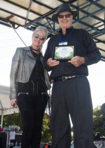 Mindi Abiar and Brian Presley and the Punta Gorda Jazz Festt