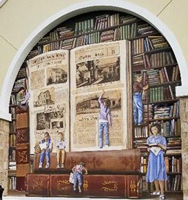 Punta Gorda Library Mural