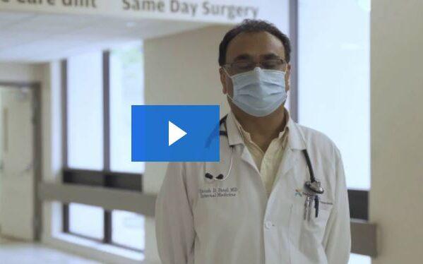 Dr. Patel talks about providing safe care at Bayfront