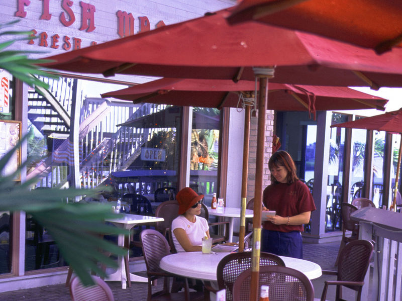 Outdoor dinining, Punta Gorda